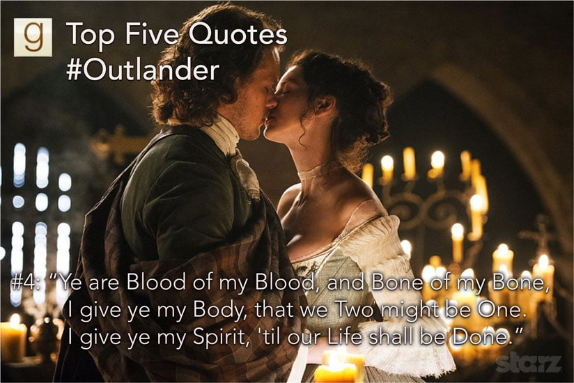 Bon Aye, Sassenach, Youu0027ll Want To Read These Outlander Quotes