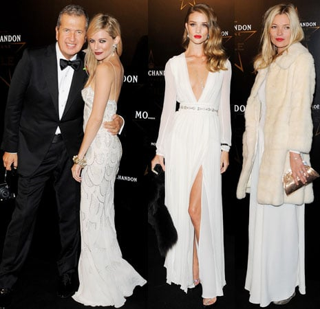 Sienna Miller and Kate Moss at Mario Testino Event Pictures