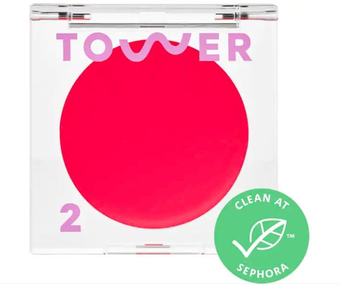 Tower 28 Beauty BeachPlease Tinted Lip + Cheek Balm in Happy Hour
