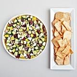 Vegetarian Appetizers: Mediterranean Layered Dip