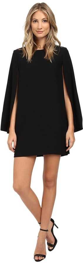 BB Dakota Gretchen Satin Back Crepe Cape Dress ($94)