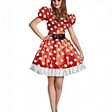 Red Classic Minnie Adult Costume