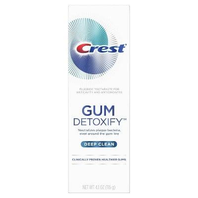 Crest Gum Detoxify Deep Clean Toothpaste