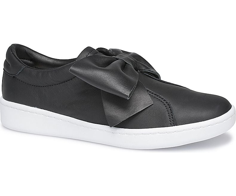 Ace Bow Leather Sneaker