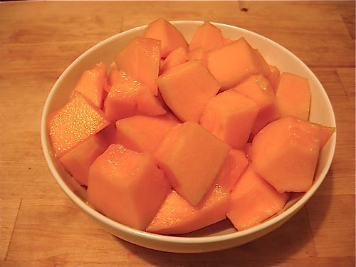 Alternatively, they can be sliced further into bite-sized pieces. Once sliced, cantaloupe can last in a refrigerator for up to three days.
