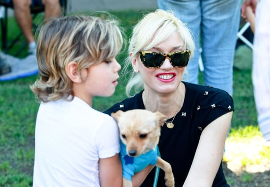 Gwen Stefani Takes Her Family To A Park In Beverly Hills
