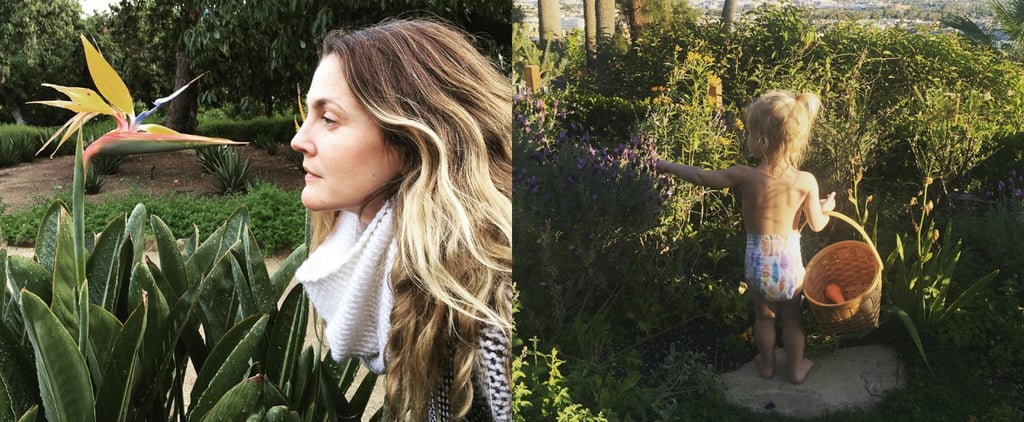 12 Times Drew Barrymore Proved She's the Ultimate Flower Child