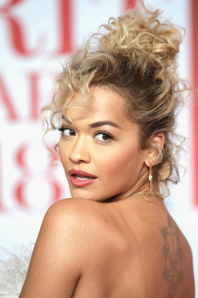 Celebrity Hair and Makeup at the 2018 Brit Awards