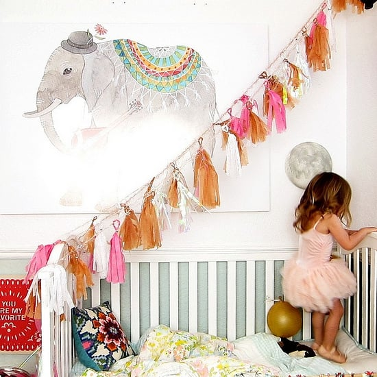 Eclectic Little Girl's Nursery