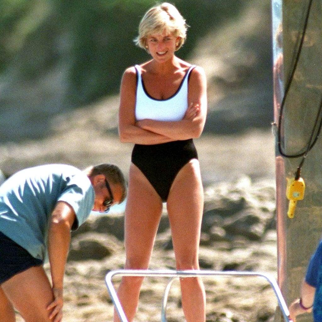 1ad12037744ce Princess Diana Swimsuit Style | POPSUGAR Fashion UK
