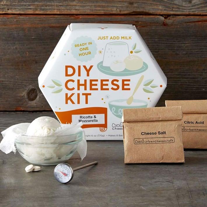 DIY Mozzarella Cheese-Making Kit ($40)