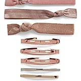 Hair Ties & Clips Set