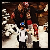 In 2013, Mariah and her family jetted off to Aspen for their annual trip.
