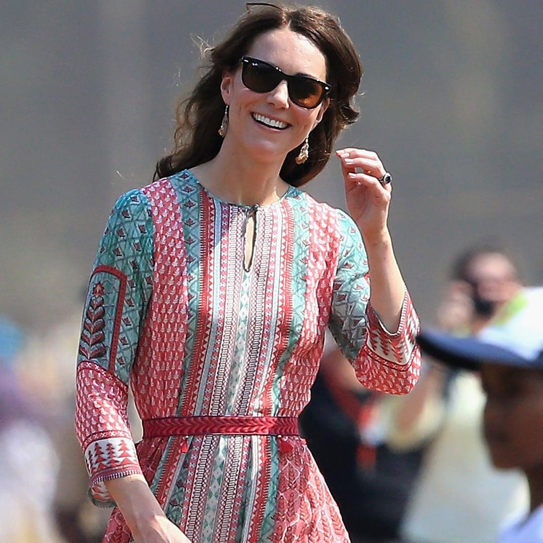 How Kate Middleton Altered Her Anita Dongre Dress | POPSUGAR Fashion