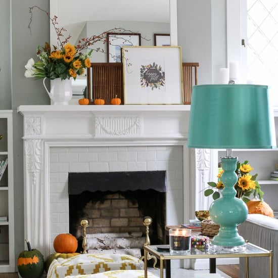 Affordable Ways to Update Your Fall Mantel