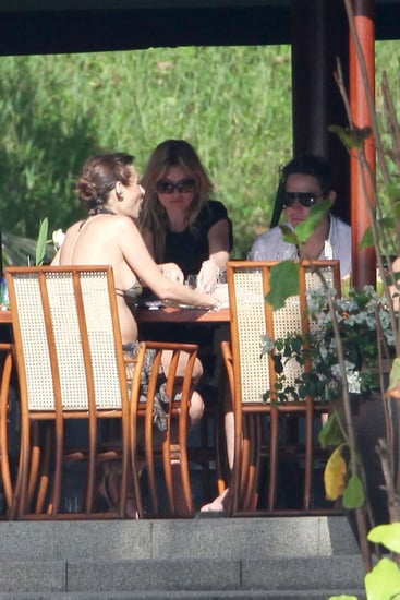 Pictures of Kate Moss and Jamie Hince in Thailand on Their New Year's Holiday