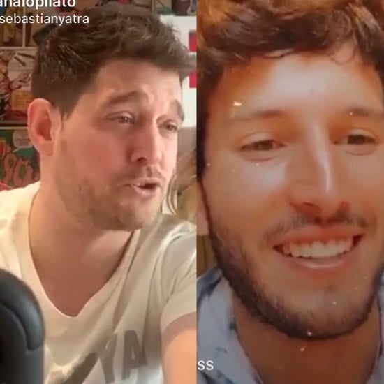 Sebastián Yatra, Michael Bublé Instagram Live