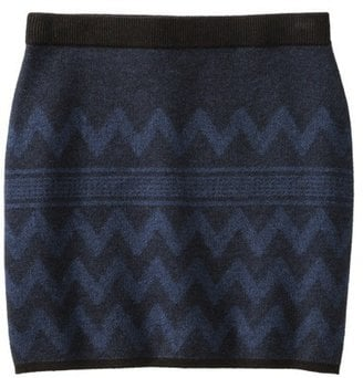 Add tights to this Mossimo Supply sweater skirt ($23) then finish with lug-soled ankle boots — very Après-ski!