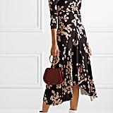 Isabel Marant Diana Asymmetric Floral-Print Dress
