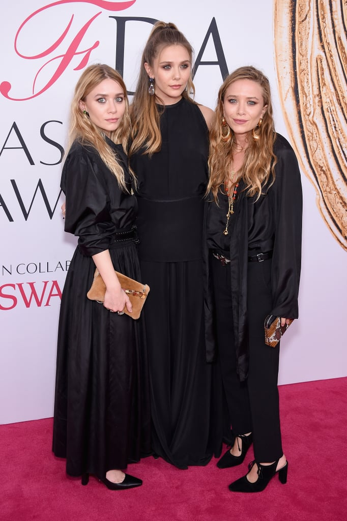 On the Red Carpet, Elizabeth Likes to Match Her Sisters