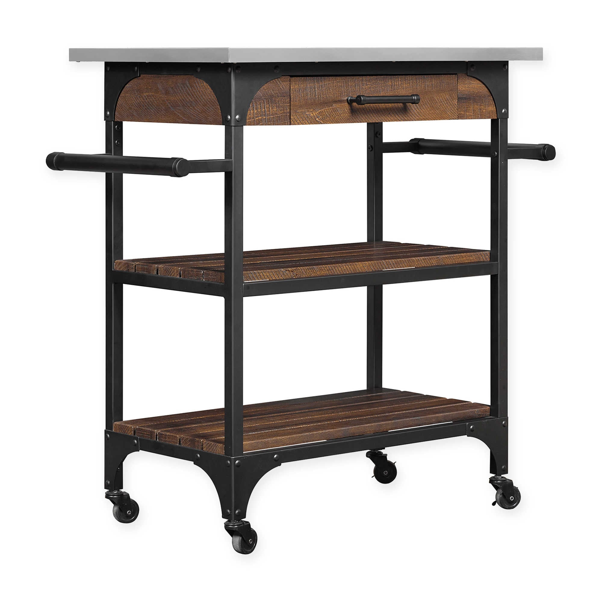 Industrial Kitchen Cart | 14 Kitchen Islands That Will ...