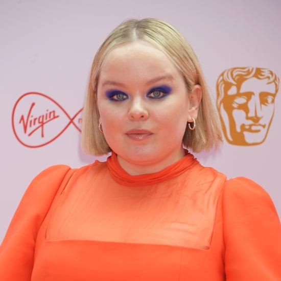 Nicola Coughlan's Cobalt-Blue Makeup at the BAFTA TV Awards