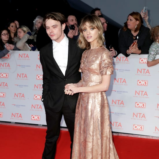 Natalia Dyer's Prada Dress at the National Television Awards