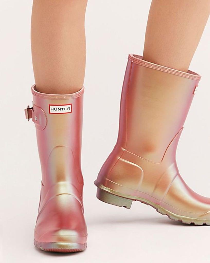 Hunter Pink Rain Boots 2019