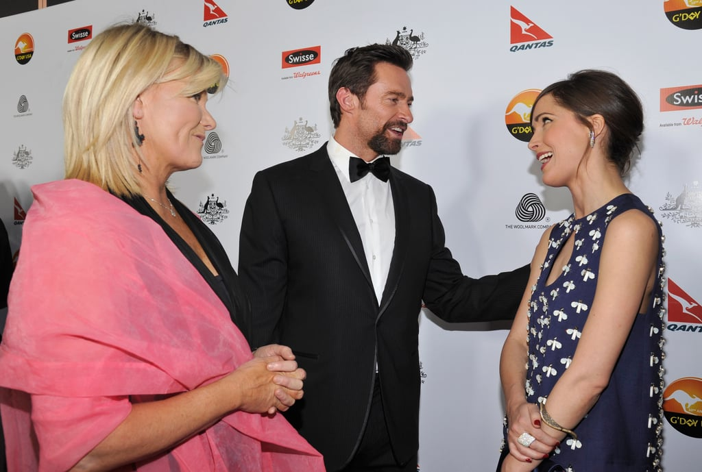 Deborra-Lee Furness, Hugh Jackman & Rose Byrne