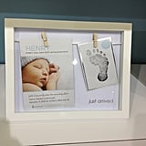 Pearhead is introducing the cutest birth announcement frame for your keepsakes.