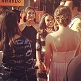 The Fab Five walked the red carpet together.  Source: Instagram user PopSugar