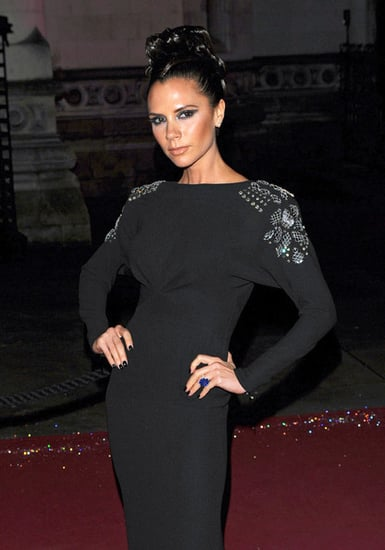 Victoria Beckham at the 2009 British Fashion Awards