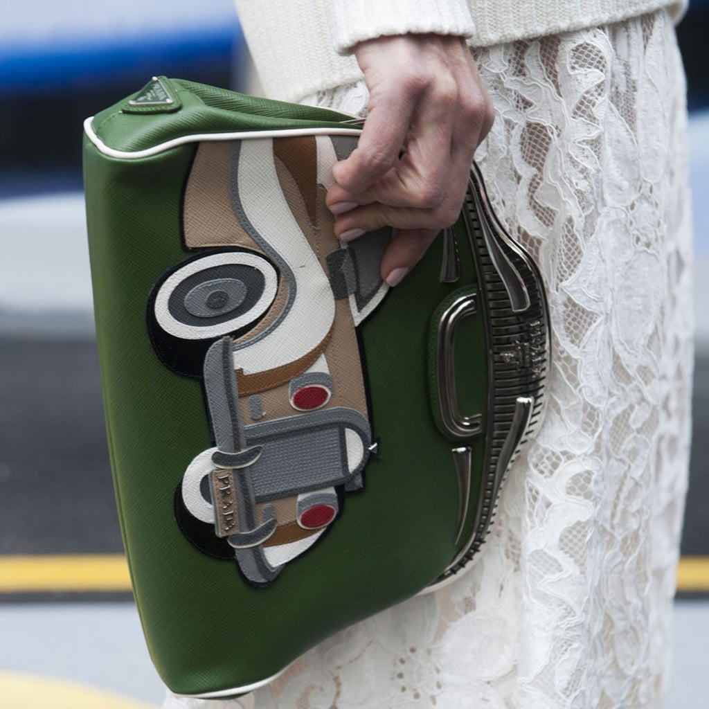 Street Style Shoes and Bags London Fashion Week Fall 2014