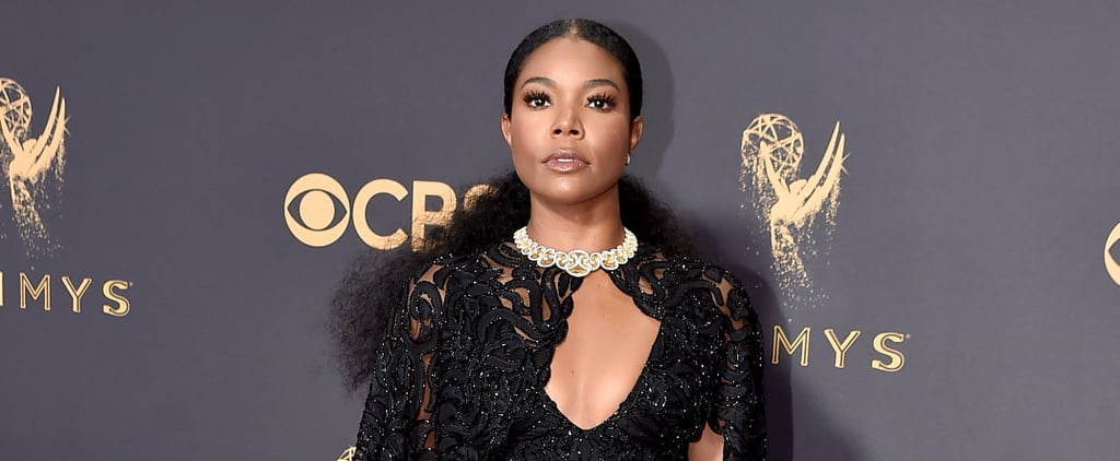 "Gabrielle Union's Emmys Gown Takes the Whole ""Little Black Dress"" Thing to a Whole New Level"