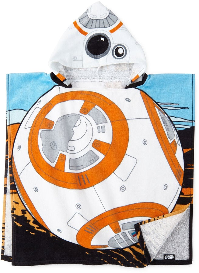 Star Wars BB-8 Hooded Poncho Towel