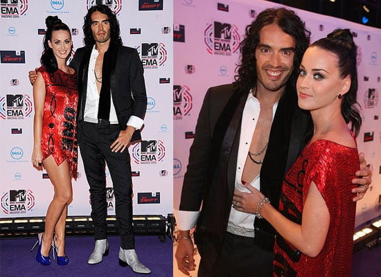 Katy Perry and Russell Brand at MTV EMAs