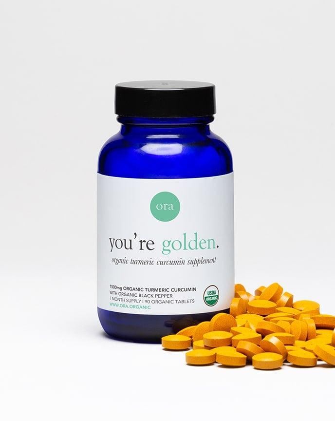 Ora Organic Turmeric Curcumin Pills