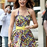 Photos of Ed and Gossip Girl Cast on Set