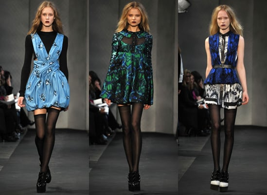 Proenza Schouler bei der New York Fashion Week, Herbst 2010