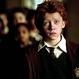 Ron Weasley, played by Rupert Grint