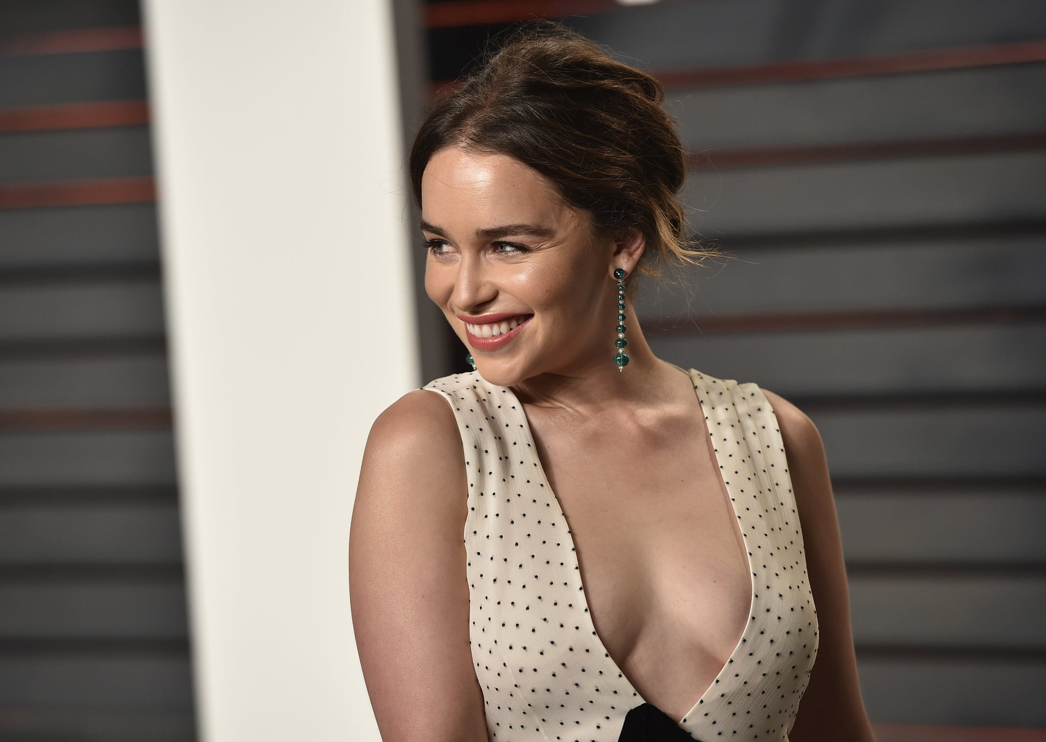 Celebrity Entertainment These Sexy Emilia Clarke Moments Will