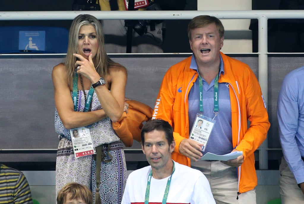 Queen Maxima and King Willem-Alexander at Olympics 2016