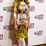 Sarah Jessica Parker in Melbourne for I Don't Know How She Does It.