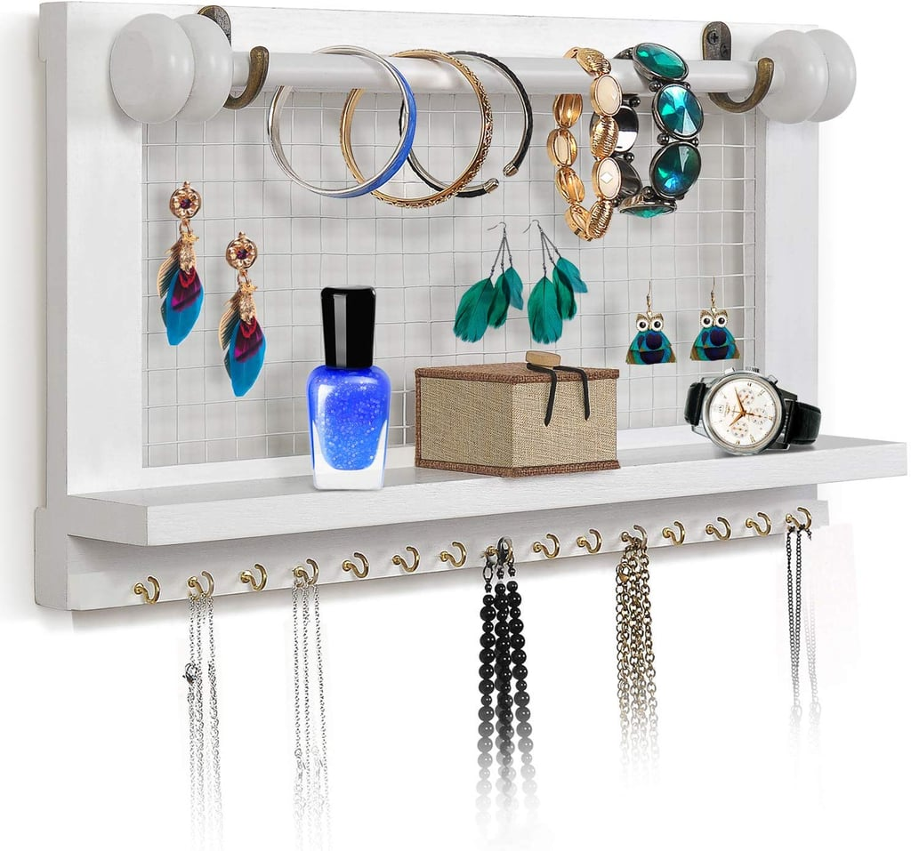 Viefin Wall-Mounted Mesh Jewelry Organizer | Cheap and ...