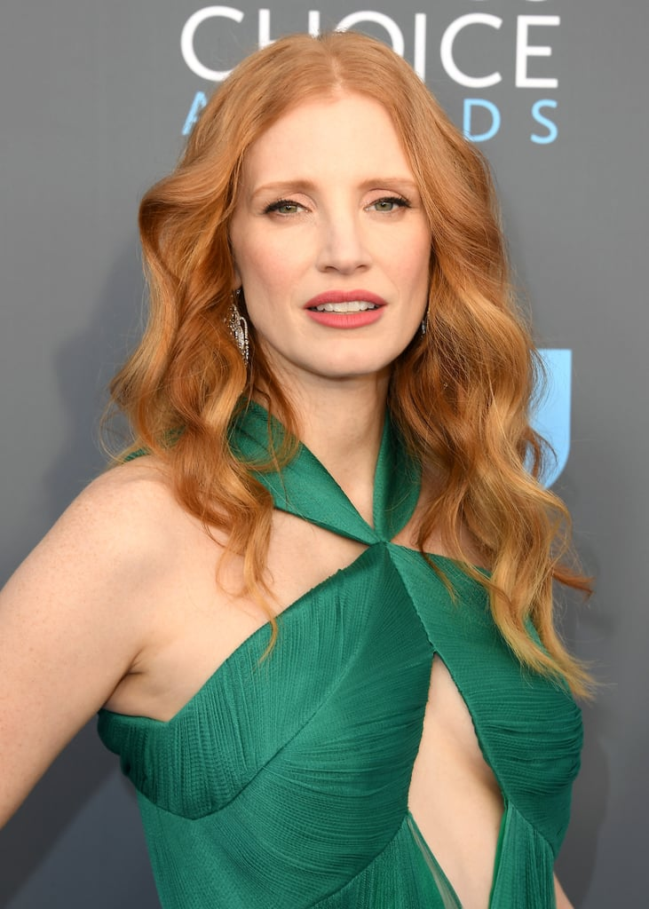 Jessica Chastain in Real Life