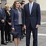 At El Prado Museum in Madrid.