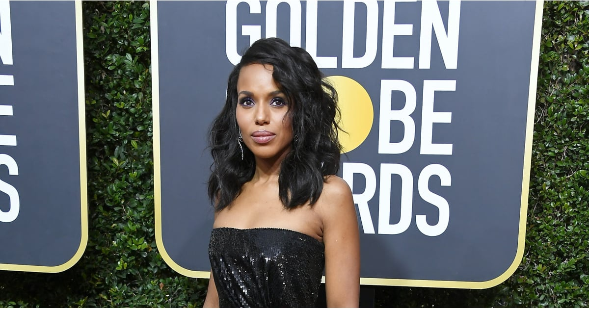 Get Stylin With Pantone S Top 6 Trending Colors For 2014: Kerry Washington Golden Globes 2018