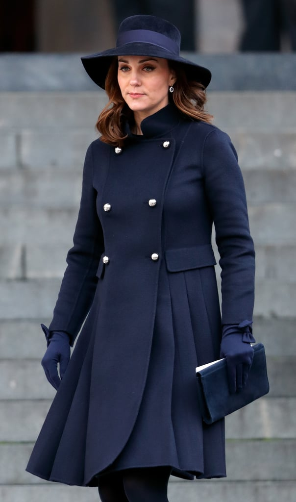 When she attended a memorial service for victims of the ...