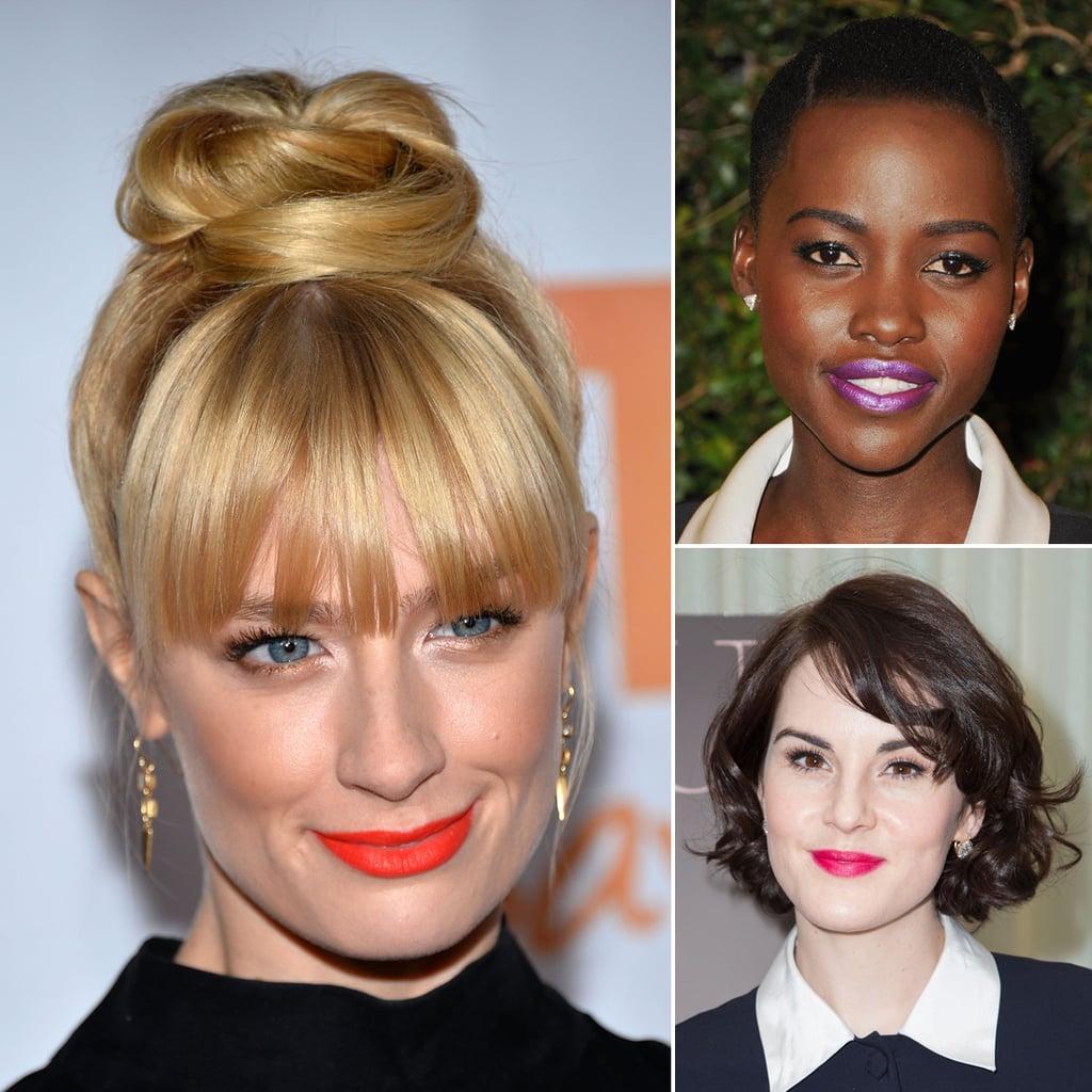 Celebrities Wearing Bright Lipstick   Beauty Trend