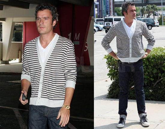 Photos of Balthazar Getty Returning to LA Without Sienna Miller